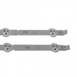 Kit Tiras de LED TV LG AGF78339701 B1 (1 tira) y B2 (2 tiras)
