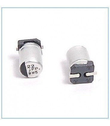 22uF 6,3V SMD Condensador Electrolitico 4x5,3mm