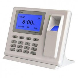 Terminal Control Presencia por Codigo y/o Huella por USB y