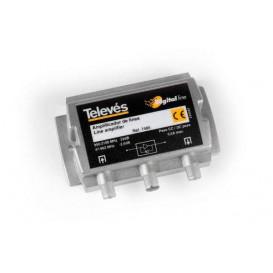 Amplificador de linea FI 20dB 5-2150Mhz TELEVES