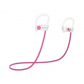 Auriculares Bluetooth Sport Blanco/Rosa