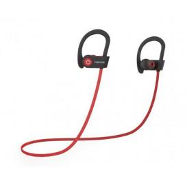 Auriculares Bluetooth Sport Negro/Rojo