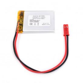 Bateria LI-Polimero 3,7V 320mAh CABLES 3x30x40mm