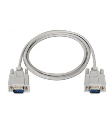 Cable D-Sub9 Macho a D-Sub9 Macho 1,8m