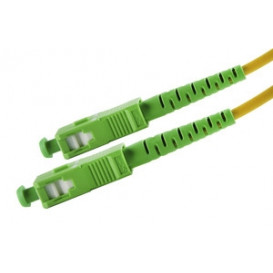 Latiguillo Fibra Optica SC/APC a SC/APC 9/125 15m