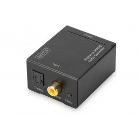 Conversor Audio Digital a Analogico Digitus