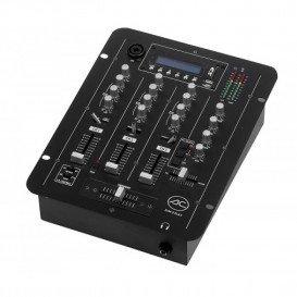 Mezclador 3Canales MP3 USB 2 Salidas
