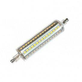 Bombilla LED LINEAL R7s 10W 118mm Luz Calida 3000K