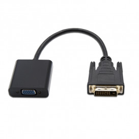 Conversor DVI 24+1 a VGA 0,10cm