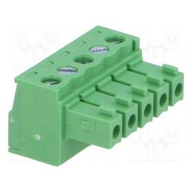 Conector C.Impreso Hembra 5 Contactos Raster 3,81mm