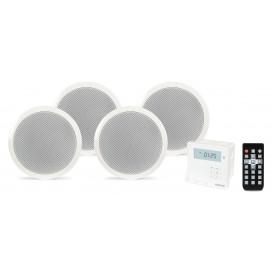 Kit Sonido Empotrar Techo con Bluetooth 4 Altavoces