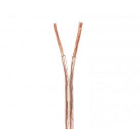 Bobina 100m Cable Paralelo 2x1mm  TRANSPARENTE