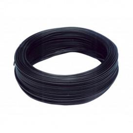 Bobina 100m Cable Paralelo 2x1mm  NEGRO