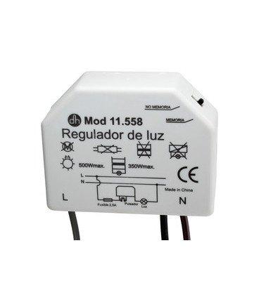 Regulador de Luz para Cajetin Empotrar 50x50
