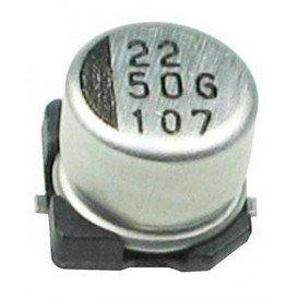 2,2uF 50VSMD Condensador Electrolitico 4x5,3mm