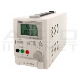 Fuente Alimentacion Laboratorio 0-120V 0-1Amp LCD