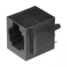 Base RJ45 Cto.Impreso Vertical 8p/8c