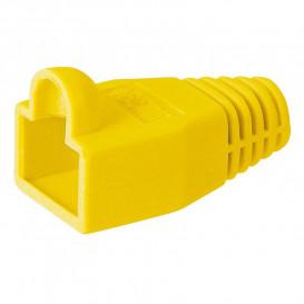 Capuchon funda protectora para Conector RJ45 AMARILLO CON039Y
