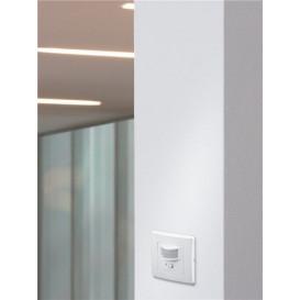 Detector movimiento empotrar pared LED Goobay