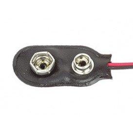 Conexion Clip Pila 9V 6LR6, 6F22, cable de 150mm 33.090
