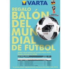 Promo VARTA + BALON Mundial de Futbol 2018