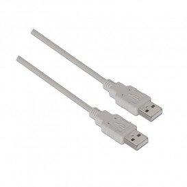 Cable USB 2. 0 A Macho a USB A Macho 1,8m.