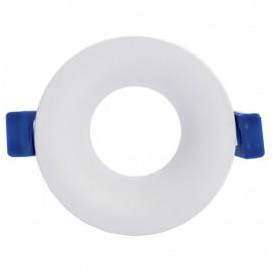 Aro Soporte TALUS Circular Fijo Blanco para Modulo COB