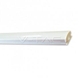 Perfil LED Superficie Difusor Mate 2000x18x10
