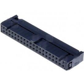Conector Cable Plano Hembra Doble Fila 40Pin 1,27
