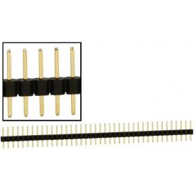 Tira poste 40 pin Macho Recto paso 2,54 ZL209-40P