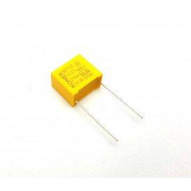 Condensador Antiparasitario  470nF 275VacX2 R15mm