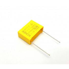 Condensador Antiparasitario  470nF 275VacX2  R22,5