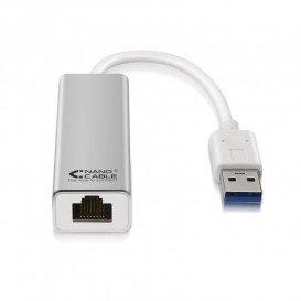 Adaptador USB-3.0 a UTP RJ45 Gigabit 10/100/1000