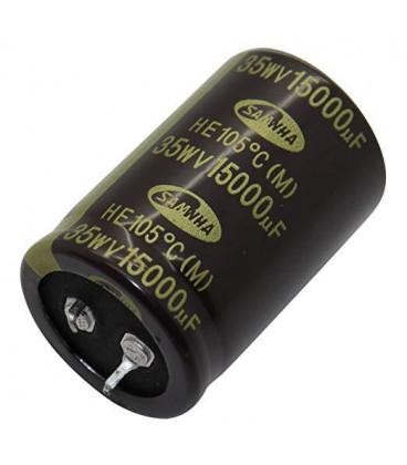 Condensador Electrolitico 15000uF 35V 105º 30x45mm
