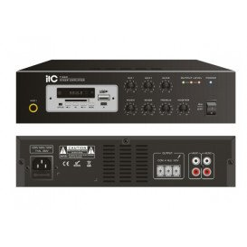 Amplificador PA 60Wrms USB MP3 Bluetooth