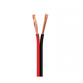 Bobina 100m Cable Paralelo 2x1,5mm  ROJO/NEGRO CCA