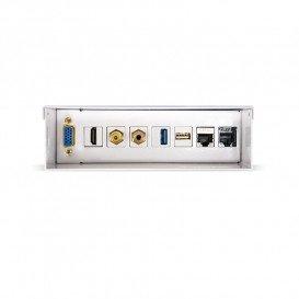 Caja Multimedia VGA HDMI JACK3.5 RCA 2xUSB 2xRJ45