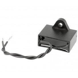 Condensador Motor 3uF 450Vac con Cables Fijacion Tornillo