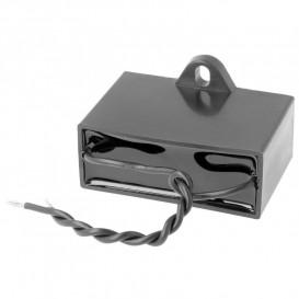 Condensador Motor 12uF 450Vac con Cables Fijacion Tonillo