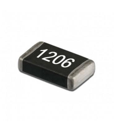 Resistencia 100R en SMD carcasa 1206