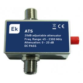Atenuador TV Regulable 0-20dB ATS