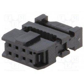 Conector IDC Cable Plano 1,27mm Hembra Doble Fila 8Pin AWP-08