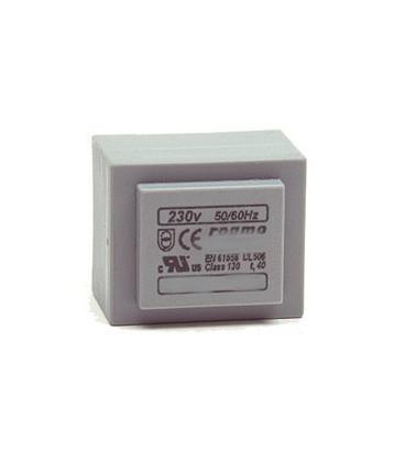 Transformador Encapsulado 12Vac 1,5VA Entrada 230V
