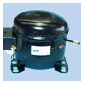 Compresor Elec. Zem R134 1/4 3 boca