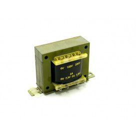 Transformador Alimentacion 7,5V+7,5Vac 1,0Amp