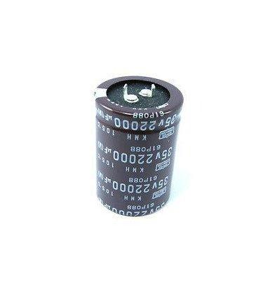 Condensador Electrolitico 22000uF Medidas 35Vdc medidas 35x45mm