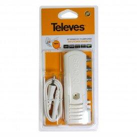 Amplificador TV Interior 2S 20dB conectores F ICT