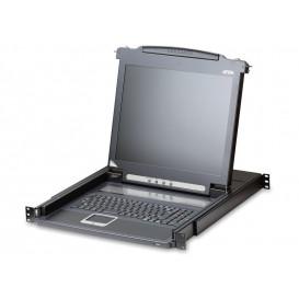 Consola 17in Teclado ESP VGA USB PS/2 RACK 19in