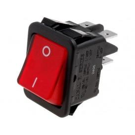 Interruptor Basculante Bipolar Luminoso ROJO OFF-ON 16A/250Vac