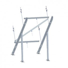 Soporte Panel Solar Vertical Inclinable suelo/pared